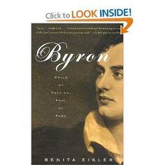 Amazon.com: Byron: Child of Passion, Fool of Fame (Vintage) (9780679740858): Benita Eisler: Books