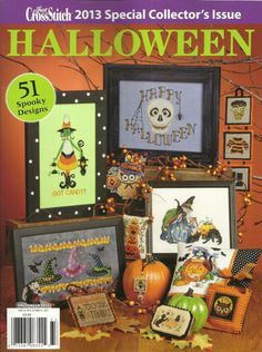 Just Cross Stitch Magazine 2016 Special Halloween Issue 57 Spooky Designs for sale online Cross Stitch Magazines, Cross Stitch Books, Just Cross Stitch, Cross Stitching, Cross Stitch Embroidery, Embroidery Patterns, Halloween 2013, Holidays Halloween, Halloween Ideas