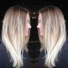 Cute Ash Blonde Hair Color