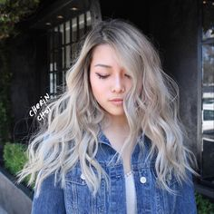 66 Trendy Ideas For Hair Dyed Diy Ombre Blondes – Balayage Hair Asian Hair Dye, Blonde Asian Hair, Dyed Blonde Hair, Balayage Hair Blonde, Ombre Blond, Blonde Color, Diy Ombre, Blonde Roots, Hair Dye Colors