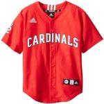 MLB St. Louis Cardinals Boy's Screen Printed Team Color Baseball Jersey
