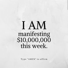 Positive Affirmations Quotes, Wealth Affirmations, Law Of Attraction Affirmations, Affirmation Quotes, Positive Quotes, Manifesting Money, Quotes To Live By, Inspirational Quotes, Words