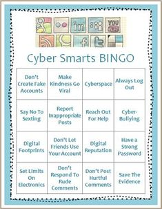 This is a great way to educate young children on cyberbullying. It is fun for the children and they are learning about it as well. Early intervention is a great way to stop the spread of it!