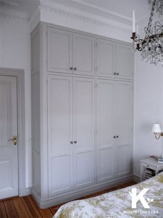 Ideas bedroom closet ideas built in wardrobe crown moldings - Schlafzimmer Bedroom Built In Wardrobe, Bedroom Built Ins, Closet Built Ins, Bedroom Closet Design, Closet Designs, Bedroom Storage, Built In Wardrobe Ideas Layout, Bedroom Closets, Bedrooms