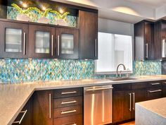 nice  16 Affordable Kitchen Backsplash Ideas Cheap With Cherry Cabinets & White Cabinets Black Countertops , So, What Is The Actual Problem On Kitchen Backsplash Ideas? An attractive home is about having the well-designed kitchen backsplash ideas on budget a..., http://www.designbabylon-interiors.com/kitchen-backsplash-ideas-when-budgeting-matters/