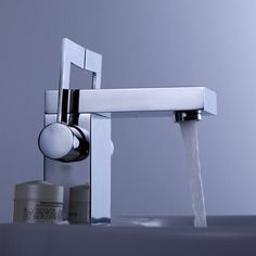 Double Levers Chrome Bathroom Faucet - contemporary - bathroom faucets - sinofaucet