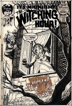 The Withing Hour n°19. Cover by Nick Cardy