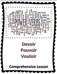this bundle of french verbs tre aller avoir and faire is 40 off the original price use the. Black Bedroom Furniture Sets. Home Design Ideas