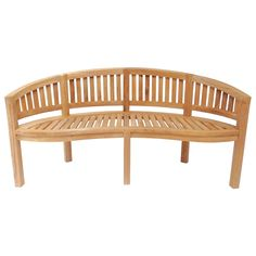 Find Charles Bentley Solid Wooden Teak San Diego Bench - - 3 Seater at Homebase. Visit your local store for the widest range of garden & outdoor products. Grey Garden Furniture, Outdoor Furniture, Outdoor Decor, Garden Seating, Garden Chairs, 3 Seater Swing, Banquette Design, San Diego, Curved Bench