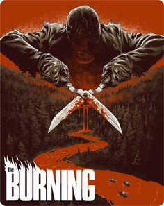 Buy The Burning - Dual Format (Includes DVD) - Limited Edition Steelbook from Zavvi, the home of pop culture. Take advantage of great prices on Blu-ray, merchandise, games, clothing and more! Horror Movie Posters, Cinema Posters, Horror Movies, Horror Film, Film Posters, Arte Horror, Horror Art, Sci Fi Movies, Scary Movies