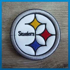 NFL Team Pittsburgh Steelers Embroidered Iron On Patch