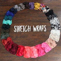 Our stretch wraps are made up of knit and spandex fabrics that has stretch to it so they are very comfortable to wear. They will come tied but can be adjusted to fit child to adult. Newborn are made to fit only newborn. - July 06 2019 at Cheap Girls Clothes, Baby Clothes Online, Cute Baby Clothes, Baby Online, Baby Girl Bows, Baby Girl Hair, Toddler Girl Outfits, Kids Outfits, Burberry Baby Girl