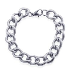Liquidation Channel | Stainless Steel Curb Bracelet
