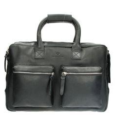 MicMac Bags Handtas Westernbag Nevada A4 Zwart