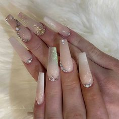 32 best light pink gel nails with silver glitter 22 – nothingideas Pink Gel Nails, Gold Glitter Nails, Rose Gold Nails, Love Nails, Acrylic Nails, Light Pink Nail Designs, Nail Art Designs, White Nail Art, White Nails