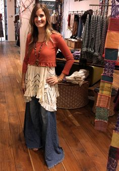 Store Style: The Extreme Vintage Flares   Free People Blog #freepeople