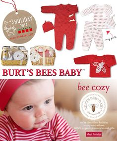 Burts Bees Baby holiday collection