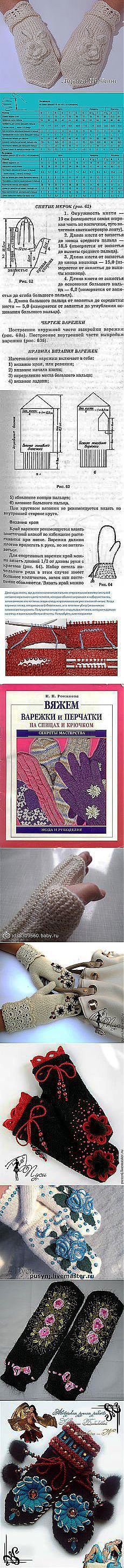 How to Knit Gloves that Fit Perfectly ___ How to Measure Your Hand to Make Gloves and Mittens that Fit Exactly ___________________________ Маргарита Боркина: Вязание - варежки, перчатки, митенки | Постила