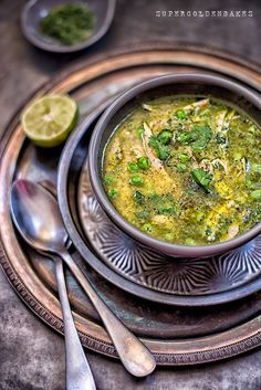 Peruvian aguadito – quinoa, chicken & coriander soup