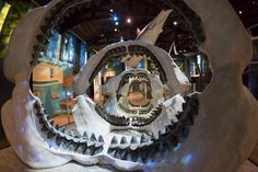 """""""My sister and a friend and I went to the #Megalodon exhibit yesterday! Awesome stuff! I wanted to check it all out before our promotion next month. We all had so much fun wandering the museum like little kids. It brought back such great memories."""" - Lin #Aubuchon #KTYD Morning Show / photo: Emily Hart-Roberts"""