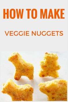 With these Homemade Veggie Nuggets not only will you save money but, your kids will gobble them up! >>  http://www.ulive.com/video/how-to-make-veggie-nuggets