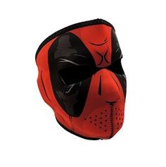 Full Face Red Dawn Neoprene Protective Facemask