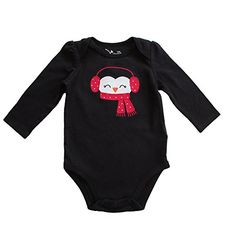 Jumping Beans Baby Girl's Christmas Long Sleeve Bodysuit Size 6 Month - Peguin Jumping Beans http://www.amazon.com/dp/B00VGTZTUA/ref=cm_sw_r_pi_dp_p8c.vb101Z8QY
