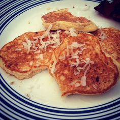 coconut peanut butter pancakes