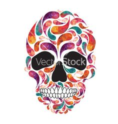 Music fan skull vector - by ches2013 on VectorStock®