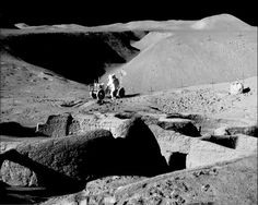 Recently released images from the NASA classified files, show interesting proof of pre-existing life on the moon...