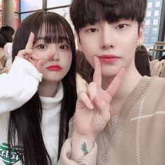 Korean Boys Ulzzang, Ulzzang Couple, Cute Korean Girl, Best Friend Couples, Boy And Girl Best Friends, Couple Look, Korean Girlfriend, Korean Couple Photoshoot, Korean Best Friends