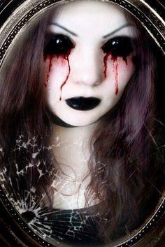 bleeding eyes halloween costume - Google Search