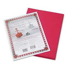 PAC103590 UNITED STATIONERS OP PAPERCONST 9X12 50PKRD * Click on the image for additional details.-It is an affiliate link to Amazon.