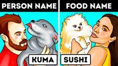 Food Names, Pet Names, Personality, Funny Quotes, Sayings, Fictional Characters, Youtube, Dog Stuff, Quizzes