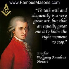 """Famous Masons """"Loyalty remains a #1 factor in any occult. We can't grow or solve real problems if we keep secrets, instead, seek within, don't worry about anything else. Trust us, you'll find the light... Everything is upside down or reversed for a reason. And even that reason is given a divine reason (think degree). Masonry was hijacked a long, long time ago, and brothers still speak of the past like its the present. Even the highest degree of the highest order known to you will be misled…"""