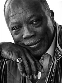"""Quincy Jones:  """"Imagine what a harmonious world it could be if every single person, both young and old shared a little of what he is good at doing."""""""