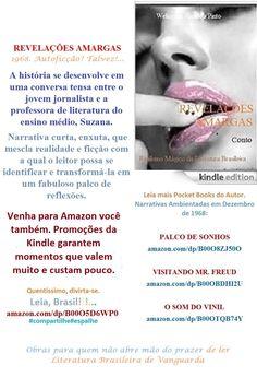 FREE/BAIXE GRATIS.Start reading REVELAÇÕES AMARGAS/ Welington Almeida Pinto.BRASIL. Enjoy:http://amazon.com/dp/B00O5D6WP0