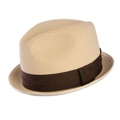 5512680f3f7c5 The Mercer is made out of Milan straw and features a flat stingy brim. This  hat is the perfect choice for style and comfort.