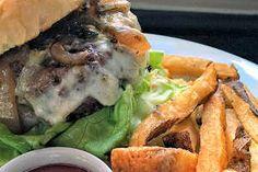 Smoked Poblano Burger at Silver Star Cafe