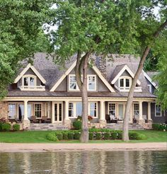 35 The Best Lake Home Exterior Design Ideas