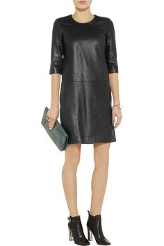 Iris & Ink The Day leather dress - 65% Off Now at THE OUTNET