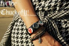 #DIY #Jewelry #Leather #bracelets with #interchangeable #charms By #Chuck-Chucks