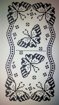 My Crochet Dream Filet Crochet Charts, Crochet Motifs, Crochet Doilies, Crochet Lace, Crochet Stitches, Crochet Patterns, Crochet Shawl, Free Crochet, Cross Stitch Designs