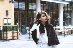 Monochrome-ing at London Fashion Week