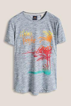 www.davidemartini.ink for Esprit - Creative designer,art director, t-shirt, print, design and illustrations, surf, vintage, hand made, typography Print summer palms beach surf WV