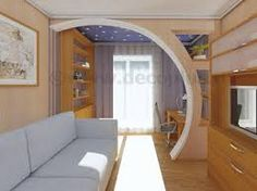Imagen relacionada Living Room Wall Units, Living Room Partition, Room Partition Designs, Kitchen Room Design, Interior Design Living Room, Living Room Designs, House Arch Design, Bungalow House Design, Arch Designs For Hall