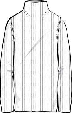 fashion technical drawing template - Google Search