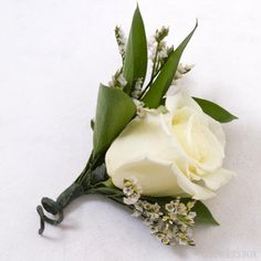 GrowersBox.com: Flowers: 24 Pack of White Boutonnieres & Corsages: Wedding Flowers  Make it easy on yourself and your wallet when planning your wedding or event where boutonnieres and corsages may be needed. Our packages of pre-arranged boutonnieres and corsages are available year-round in a variety of different color combinations.   Visit www.growersbox.com for more information.