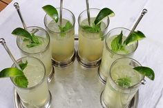 Recipe | EASY Lime Mint Mojitos