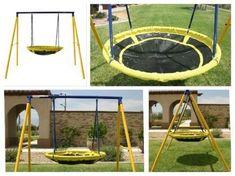 Porch Swing Set#Outdoor#For Kids#Toddler#Metal#Backyard#Playground#Patio#Kit